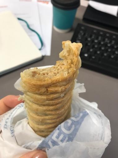 Greggs vegan sausage roll. No.
