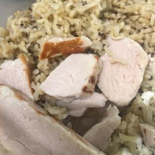 quinoa, rice & chicken